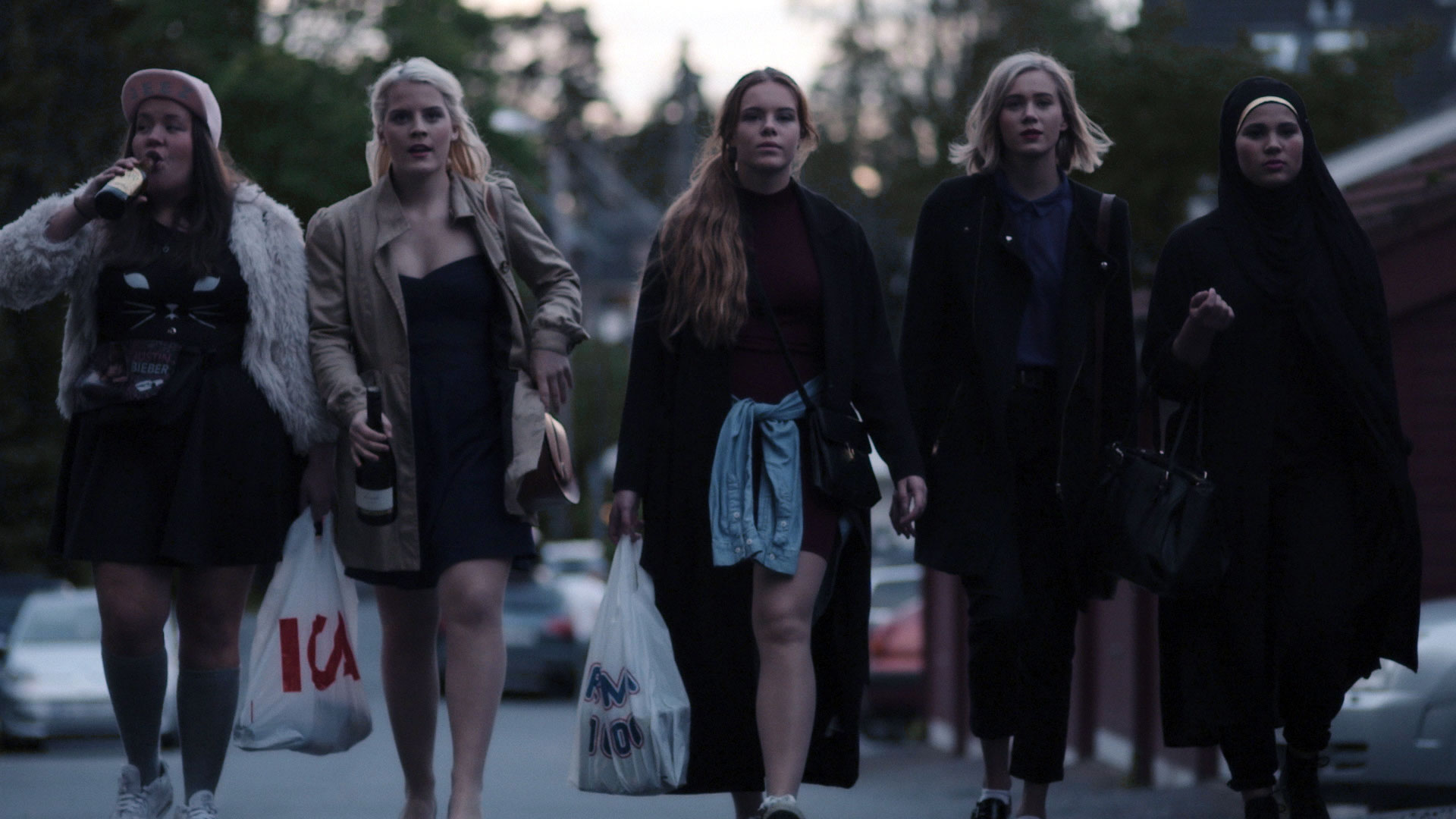 Iconic picture from Skam. Photo: NRK